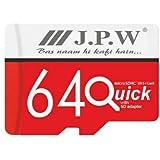 J.P.W Select 64GB Class 10 Memory Card