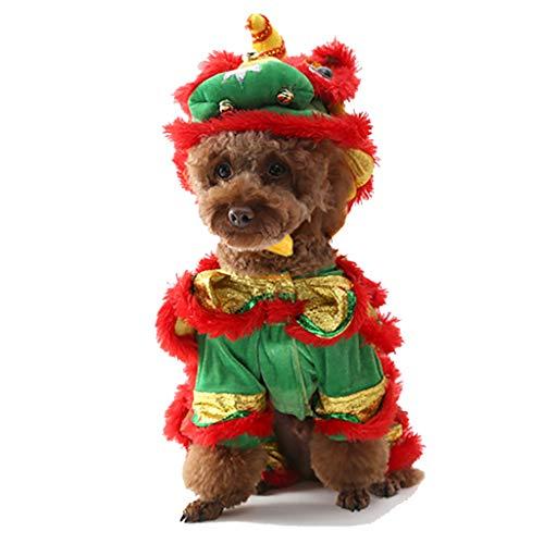 Koojawind Hund Hoodies Katze Mantel Kleidung Haustier KostüMe Hundeanzug Mit Kappe LöWe, Katze KostüM Nette Kleidung Haustier Hoodie Mantel FüR Haustier Cosplay