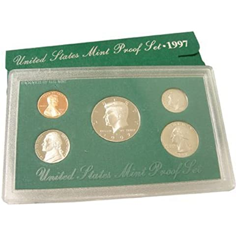 1997 Proof set-uncirculated by US