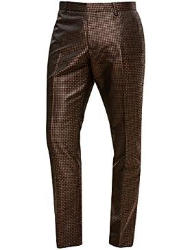 next Hombre Traje De Corte Ajustado De Jacquard Geométrico: Pantalones