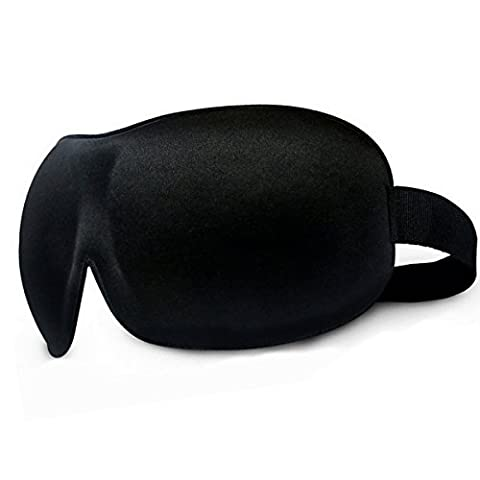 Masque des Yeux/Masque de voyage Ultra-Doux anti-lumière, anti fatigue,3D