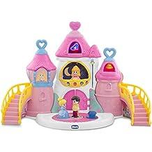 Disney - Castillo de Princesas Disney interactivo, con 3 personajes (Chicco 00007603000000)