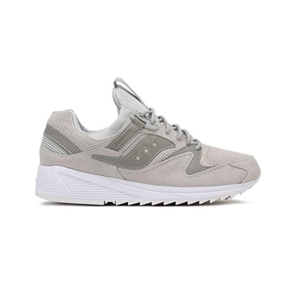 Saucony Uomo Grigio Grid 8500 HT Sneaker 1 spesavip