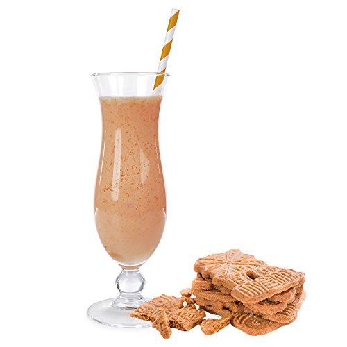 Spekulatius Geschmack Proteinpulver Vegan mit 90% reinem Protein Eiweiß L-Carnitin angereichert für Proteinshakes Eiweißshakes Aspartamfrei (1 kg)