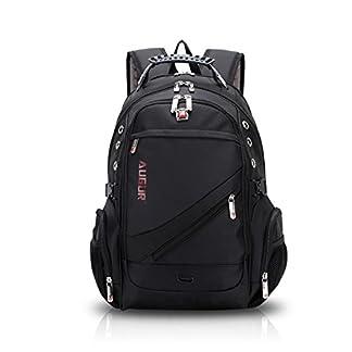 41SeW%2Bu94KL. SS324  - FANDARE Alpinista Mochila Backpack para Ordenador Portátil 10''-15.6'' Recorrido Morral al Aire Libre Impermeable Viaje Escuela Bolso Mujeres Hombres Ultra Ligera Alta Capacidad Poliéster