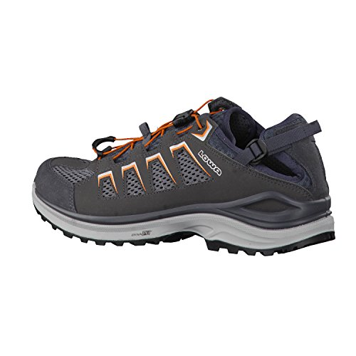 Lowa Herren Laufschuhe Madison Lo 410481 graphit/orange
