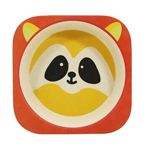 r Kinder Cartoon Nette Schüssel Salat Schüssel, Q (Kunststoff-platten Aufgeteilt)