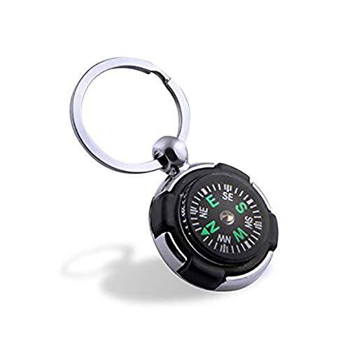 Fdhd Kompass kleine Geschenkmetall Schlüsselanhänger kleine Geschenk magnetische Kompass Nadel Anhänger Anhänger