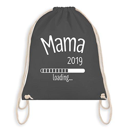 Schwangerschaft - Mama 2019 loading - Unisize - Dunkelgrau - WM110 - Turnbeutel & Gym Bag