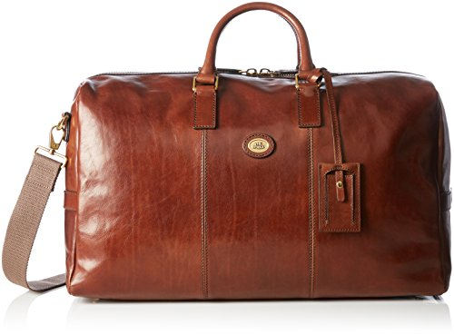 The Bridge Travel Bag cm 52 Sac Mixte Adulte Marron (14), 50 x 27 x 22 cm