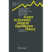 Essays in Dynamic General Equilibrium Theory: Festschrift for David Cass: 20 (Studies in Economic Theory)