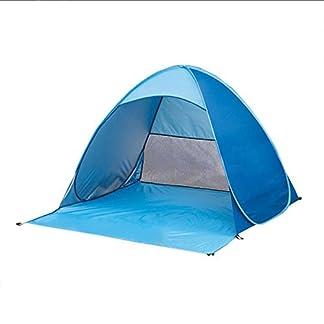 feierna Sol Protección Tienda de campaña, Plegable portátil bebé Juguete Tienda de campaña, Tienda de campaña para la Playa y Sol Refugio para Camping Pesca Picnic–Protección UV