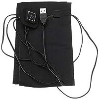 AITOCO Almohadilla eléctrica Calentador eléctrico Calentador de Ropa Estera calentadora - 3 Temperatura Ajustable (35-50 ℃) / Temporización/Impermeable / Plegable para la Ropa, Chalecos, Cinturas