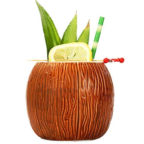 snuss-Form für Geschenke, Tassen und Tassen, Sammlungen Neujahrsdekoration, Tiki Coconut cup ()