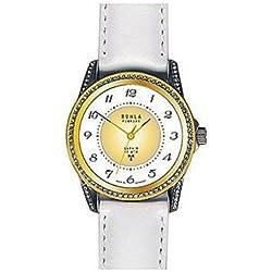 Uhr - Analog Funk - Edelstahl Leder - bicolor