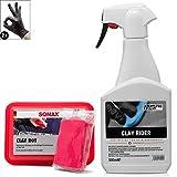 detailmate Auto Reinigungsknete Set: ValetPRO Clay Rider - 500 ml - Gleitmittel...