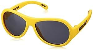 Babiators Boy's BAB-046 Aviator Sunglasses, Hello Yellow