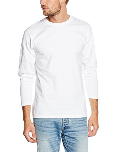 Fruit of the Loom Herren T-Shirt Weiß (Weiß 30)
