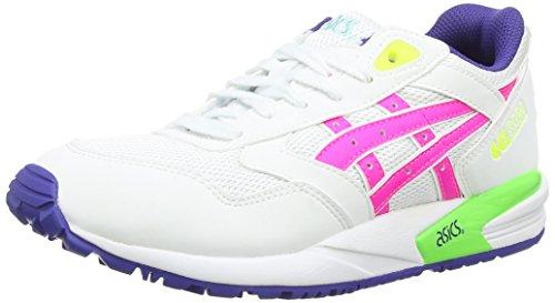 ASICS Gelsaga, Running Entrainement Femmes Blanc (White/Pink 120)