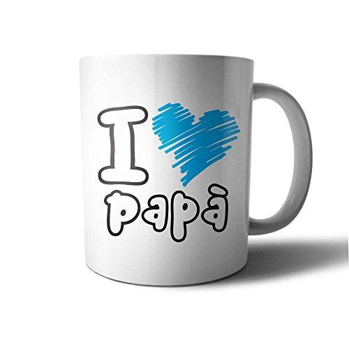 Tazza idea regalo festa del papa' i love papa'