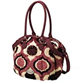 Petunia Pickle Bottom Handtasche Cosmopolitain Carryall, Plum Tart Cake
