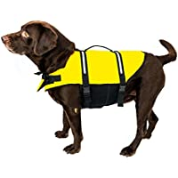 Chaleco salvavidas para perros, arnés reflectante, con correa para perro