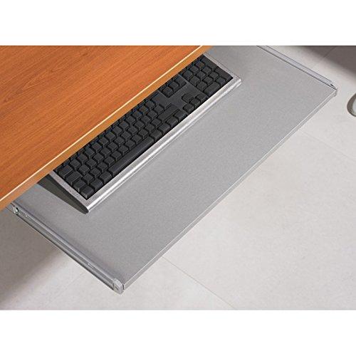 ACTUAL DIFFUSION a945al amtma Tastaturauszug Tastatur Universal Holz grau 68,1x 36x 9,9cm -