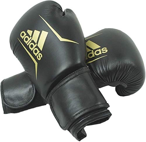 adidas Guantoni da Boxe Boxing Glove Speed 50, Nero, 10, ADISBG50