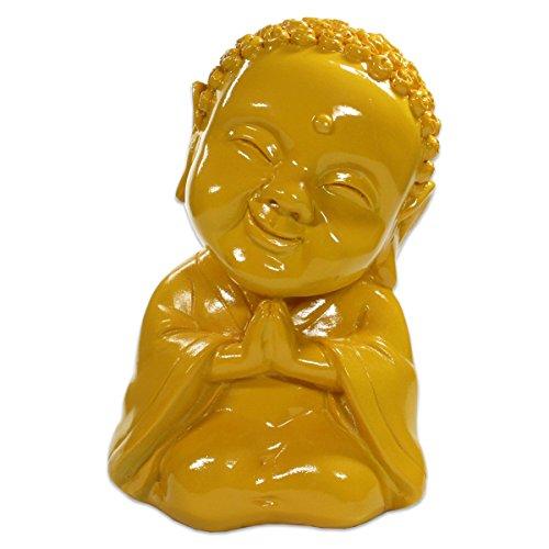 Figura de Buda, arte pop–Figura buda de resina para jardín y casa, en diferentes colores–Aprox. 10cm x 8cm x 15cm