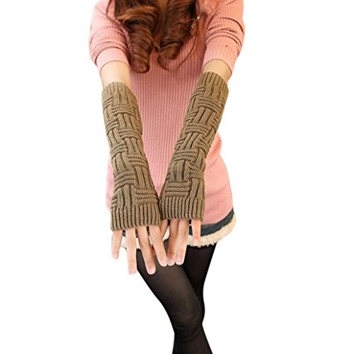 hunpta-women-winter-wrist-arm-hand-warmer-knitted-long-fingerless-acrylic-gloves-mittens-khaki