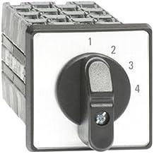 Abb-entrelec onst43pb - Conmutador 4 posición 3 polos 25a montaje puerta