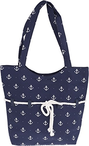 Küstenluder SIENA Sailor Anchor ROPE Anker Punkte TASCHE Rockabilly