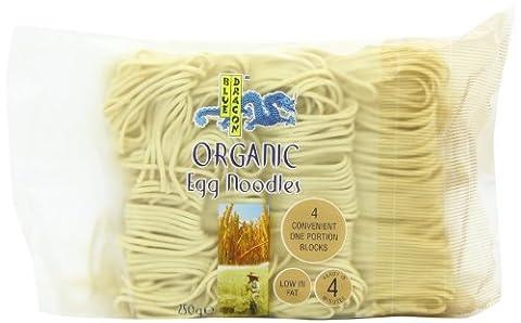 Blue Dragon Organic Egg Noodles 250 g (Pack of 12)