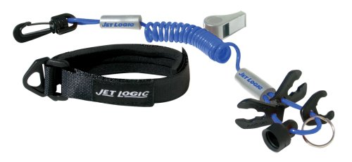 Kwik Tec Jet Logic ul-3Ultimate PWC 42085000Sicherheit Schlüsselband, blau/Silber -