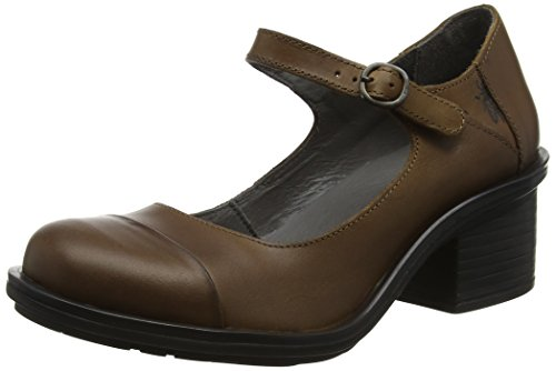 Fly London Damen Cody877fly Pumps, Braun (Camel), 38 EU