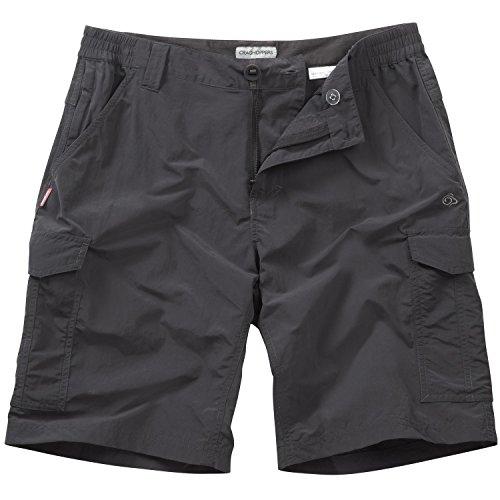 Craghoppers - Nosilife - Pantaloni Corti Cargo - Uomo Nero pepe