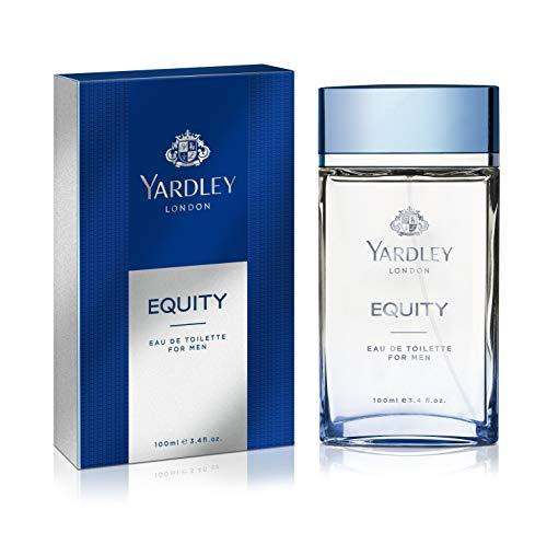 Yardley London Yardley Equity by EAU De Toilette Spray 3.4 oz / 100 ml (Men) - Red-spray Köln