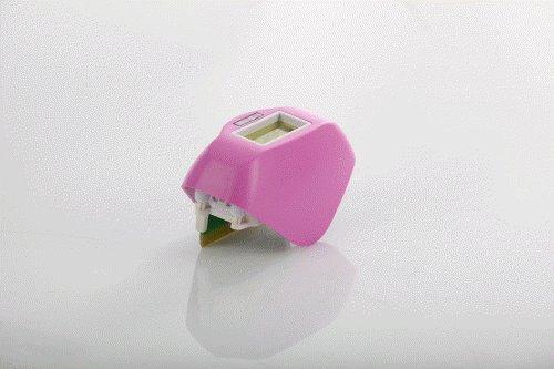 Epilateur/Epilateur lumière pulsée/Epilateur compact/TETE MOBILE de remplacement E FLASH/Rose