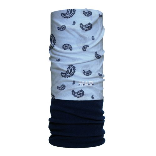 Kids, Paisley Light Blue Fleece/Darkblue Kf, One size, HA220-0333 (Light Blue Bandana)