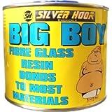 Resina de fibra de vidrio con endurecedor, 500ml