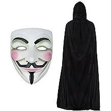 V pour Vendetta Masque & Cape À Capuche Ensemble Déguisement