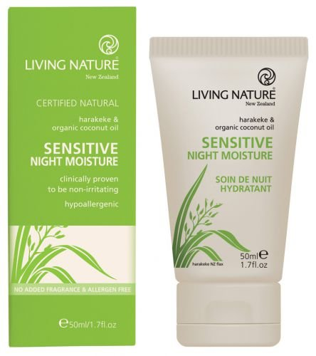 Living Nature: Sensitive Night Moisture (50 ml)