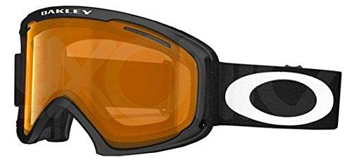 Oakley - O2 XL OO 7045, Sportbrille, Propionat, Herrenbrillen, MATTE BLACK/PERSIMMON(59-360)