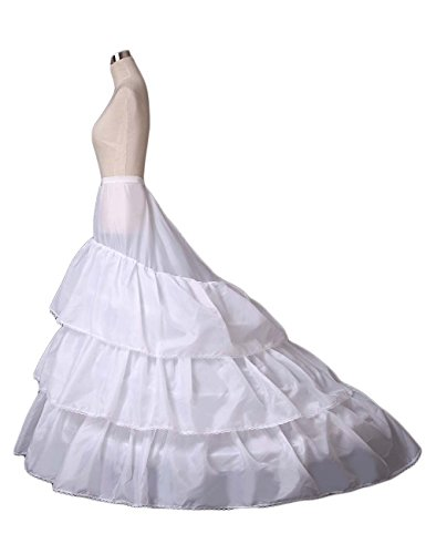Women's A-line 3-Hoop Petticoat Underskirt Crinoline for sale  Delivered anywhere in UK