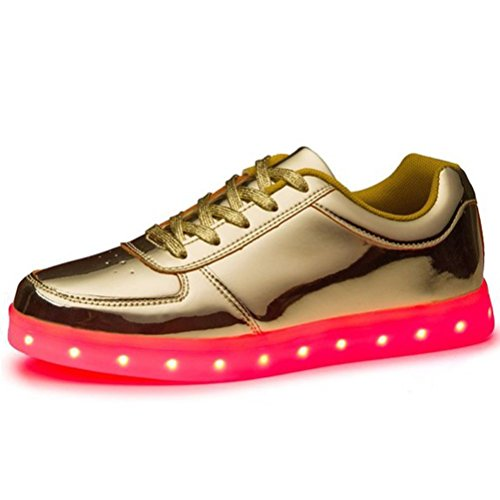 Turnschuhe Sportschuh Mädchen Jungen Led Farben Sneakers Handtuch Führte C15 present Leuchten 7 Kinder Trainer junglest kleines nqw6x880O