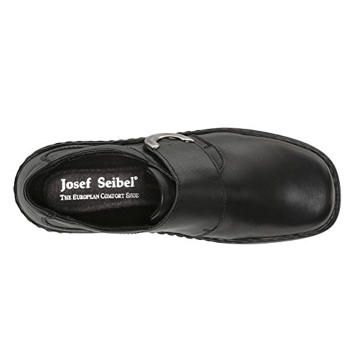 Josef Seibel Womens Theresa Leather Shoes Noir