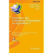 [(Computer and Computing Technologies in Agriculture: Part II : 5th IFIP TC 5, SIG 5.1 International Conference, CCTA 2011, Beijing, China, October 29-31, 2011, Proceedings)] [Edited by Daoliang Li ] published on (February, 2014)
