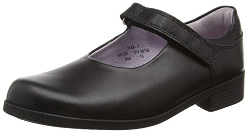 Start-rite Girls' Samba G Fit Mary Jane, Black, 1 G UK