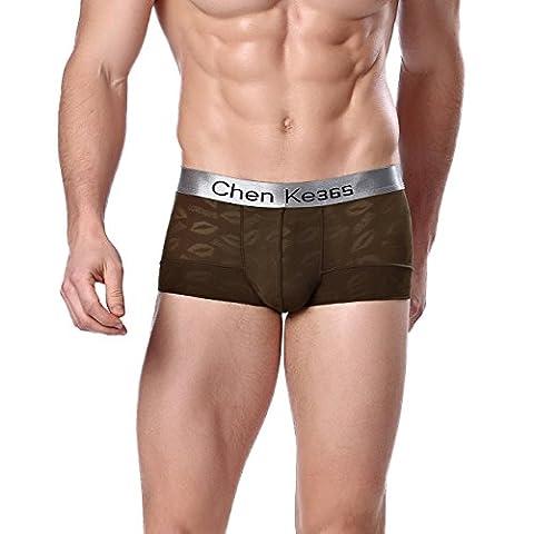 FZmix Men'S Underwear Boxer Shorts High Quality Mens Leisure Lounge Home Wear Underpants