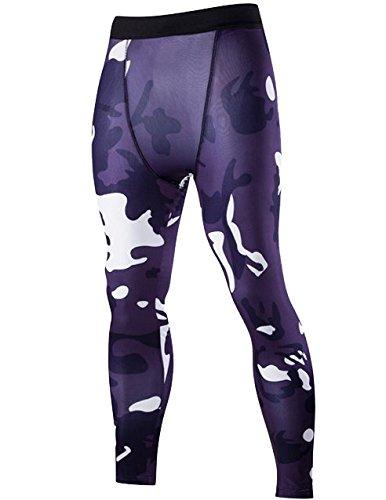 compression-tight-pants-homme-sport-pantalon-leggings-camoufle-couche-de-base-violet-s